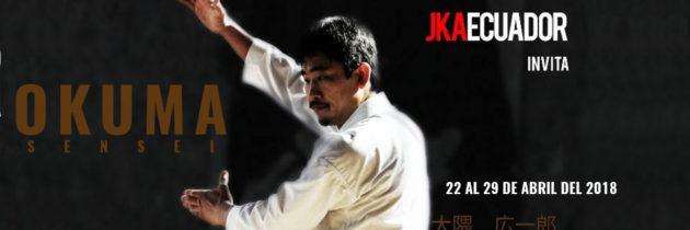 Sensei Okuma – Seminario Internacional 2018