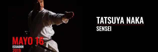 Sensei Taksuya Naka – Seminario