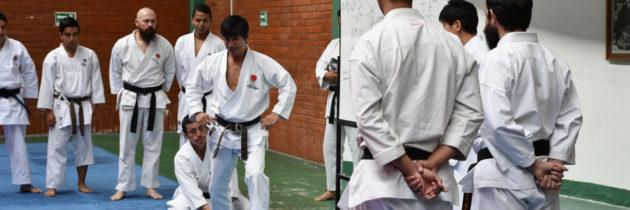 Estuvo con nosotros Sensei Tatsuya Naka, 7mo Dan de la Japan Karate Association